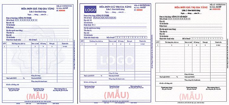 In hóa đơn đỏ GTGT (VAT) giá rẻ
